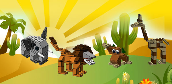 5 Animals Your Kids Can Create with LEGO Bricks