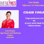Relaxing Chair Yoga Poses you can do at your work, the last one will Amaze you